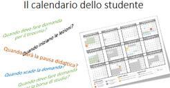 Calendario studente
