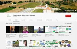 Canale YouTube Dip. Agraria - Sassari
