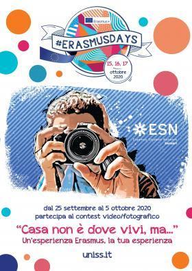 Primo concorso fotografico per studenti Erasmus Uniss incoming e outgoing